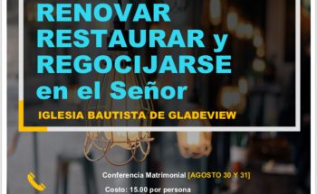 Marriage Conference- Renovar, Restaurar y Regocijarse